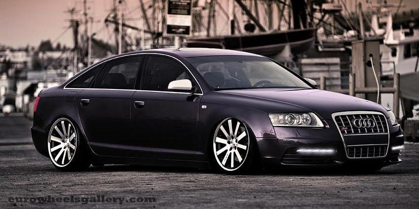 20 Inch Staggered Mrr Cv8 Wheels On Audi S8 Wheelpal Com