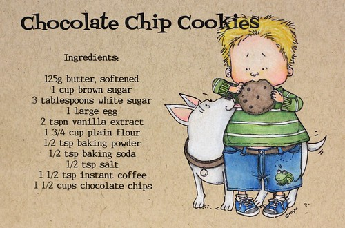 Cookie Recipe Card | by Morgan Faie