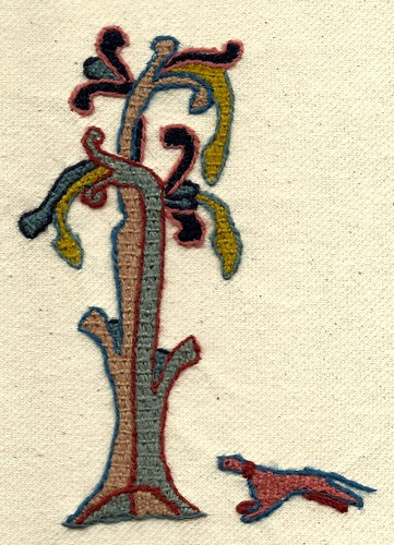 Dog & Tree | by Stamford Bridge Tapestry Project