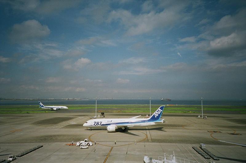 All Nippon Airways B787-8