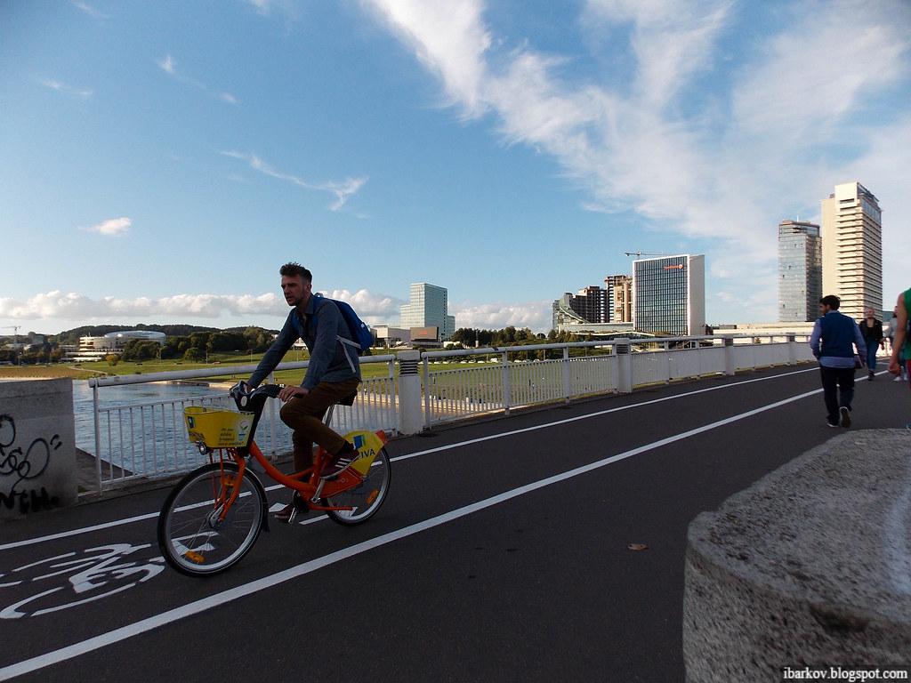 11 Велопрокат Вільнюс