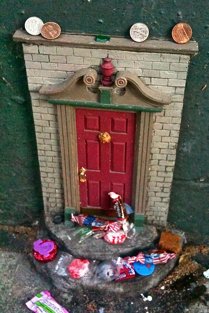 Fairy doors in ann arbor all around town delighting for The works fairy door