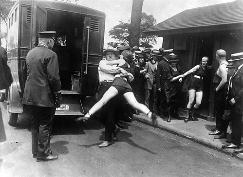 Bathing Suit Arrests, Chicago, 1922 | by DogByte6RER