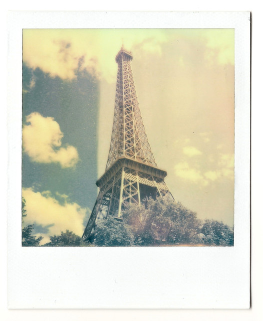 eiffel tower polaroid of 700 photos taken in paris this i flickr photo sharing. Black Bedroom Furniture Sets. Home Design Ideas