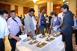 UNWTO and the Ramsar Secretariat launch publication: Destination Wetlands: Supporting Sustainable Tourism. Credit: Ramsar COP11 © Trandafirescu | by UNWTO