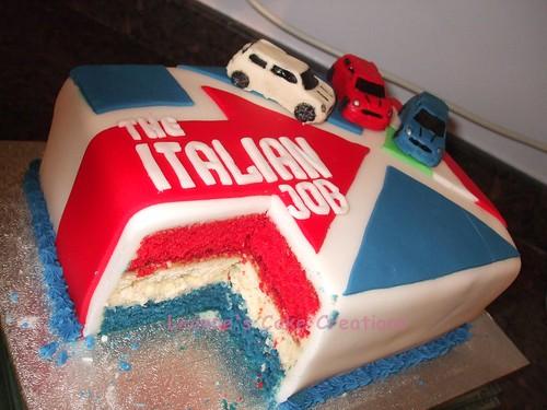 Cake Decorating Ideas For New Job : Italian Job Cake Leanne Maskell Flickr