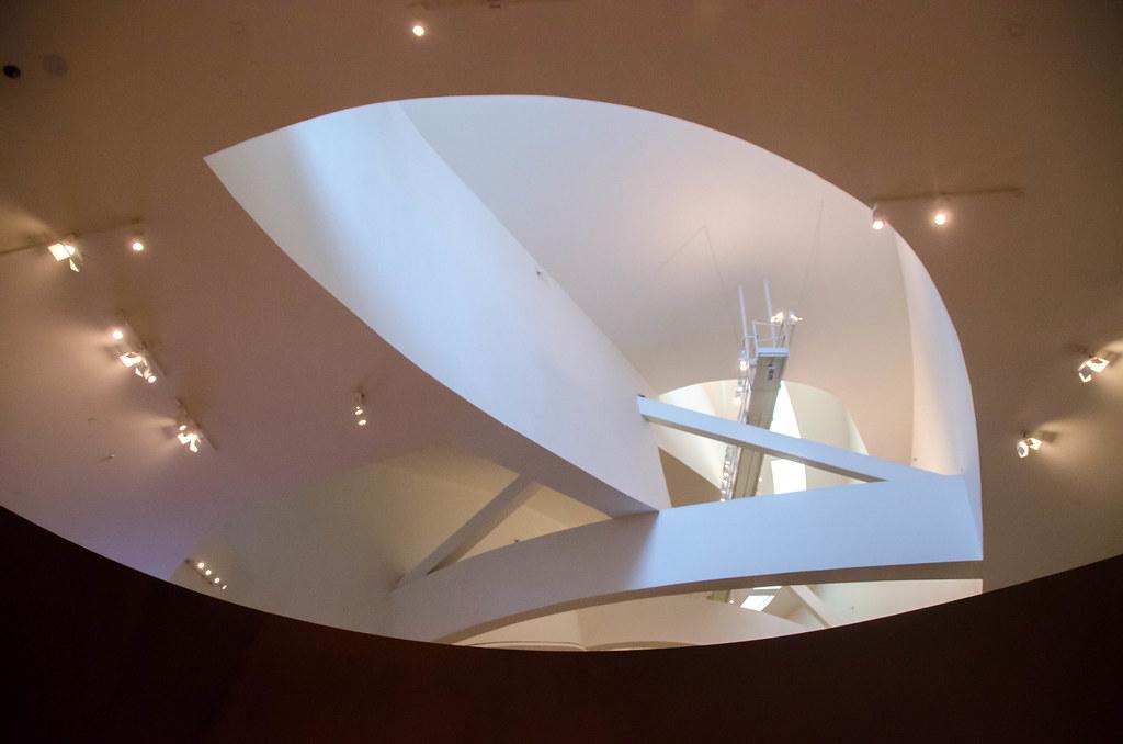 Richard Serra Guggenheim Bilbao Richard Serra Arcelor Mittal Hall Guggenheim Museum Bilbao