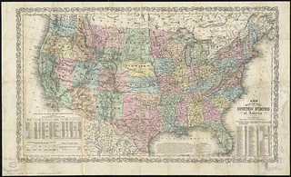 A new map of the United States of America | by Norman B. Leventhal Map Center at the BPL