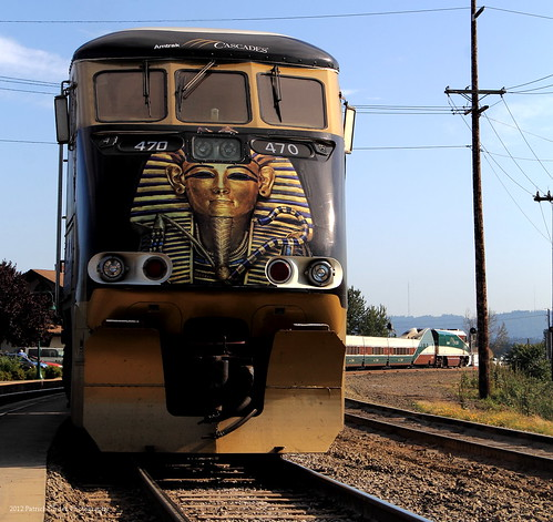 Amtrak Cascades, Powered by King Tut | by Patrick Dirden