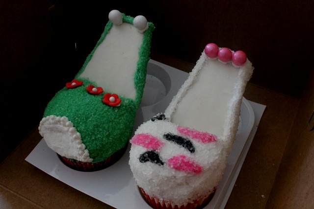 high heel shoe cupcakes 3 high heel shoes made for a