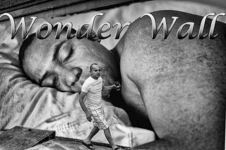 PHOTOSHOP COMPOSITION 2: WONDER WALL | by Chuck LaChance