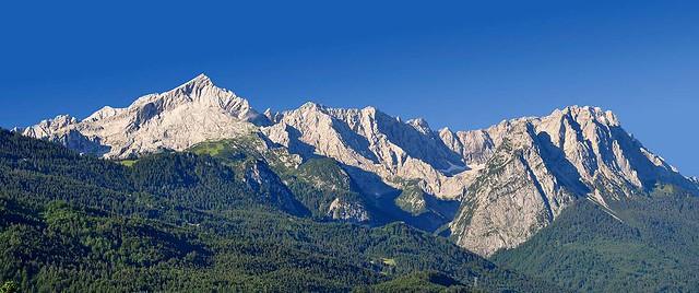 Zugspitze Panorama Alpspitze Zugspitze Pa...