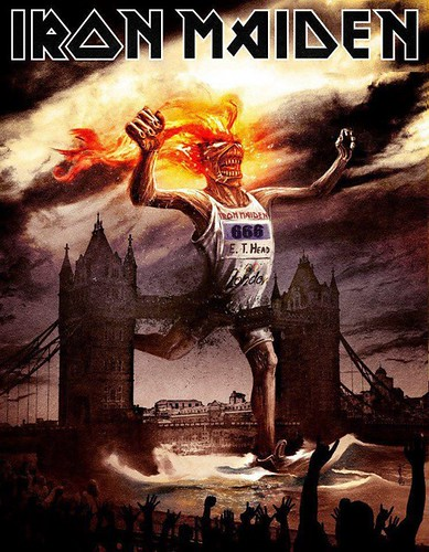 Iron Maiden, Olympics | by Littlemad
