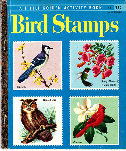 Little Golden Activity Book: Bird Stamps