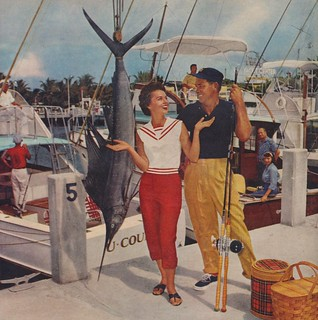 Unexpected Things Happen When Wives Go Fishining at Fort Lauderdale | by The Cardboard America Archives