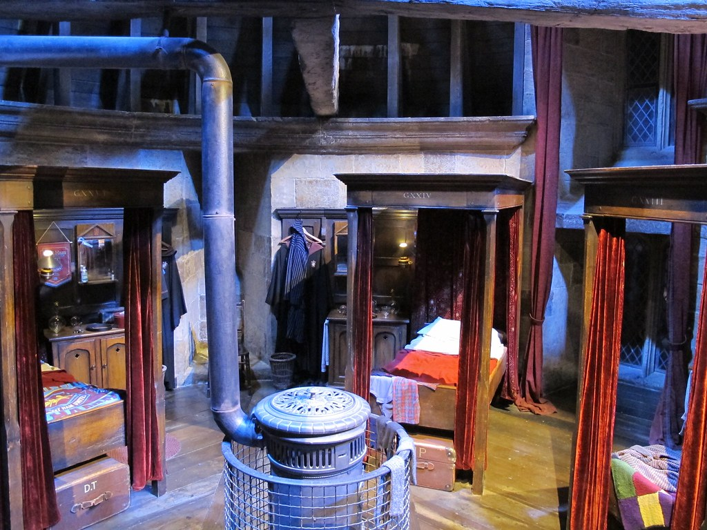 ... Dorm Room   The Making Of Harry Potter   Studio Tour   By Lloydi Part 8