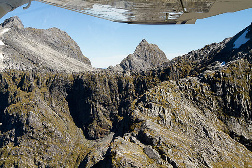 Milford Sound glaciers from the air | by JenniferMcCallumPhotography