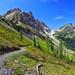 Ascending Rock Pass, Pacific Crest Trail, Pasayten Wilderness