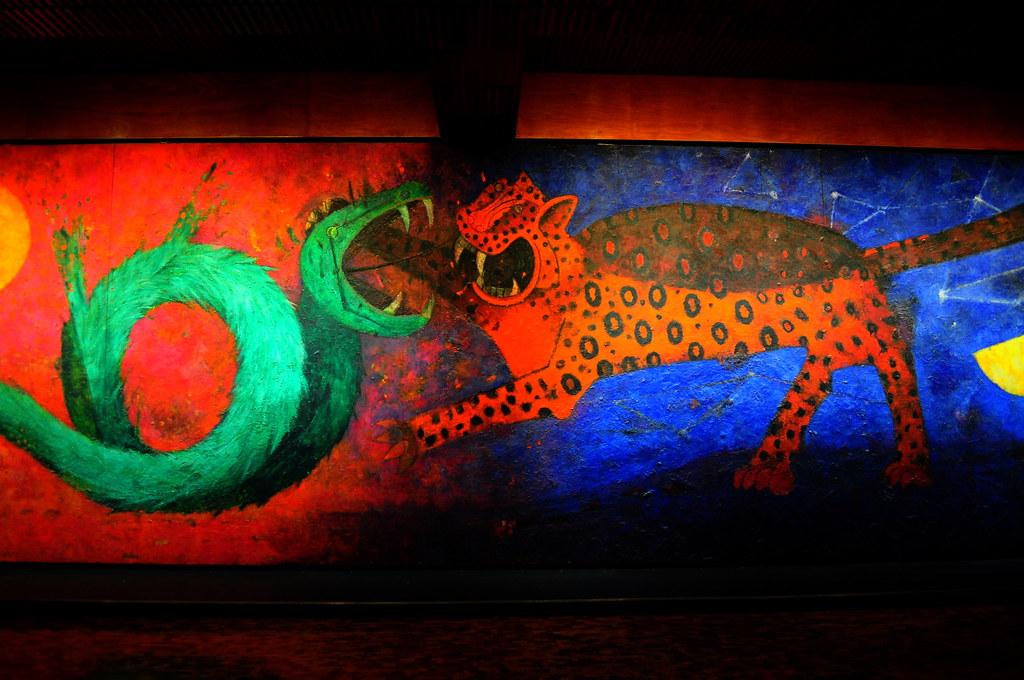el d a y la noche mural de rufino tamayo la batalla