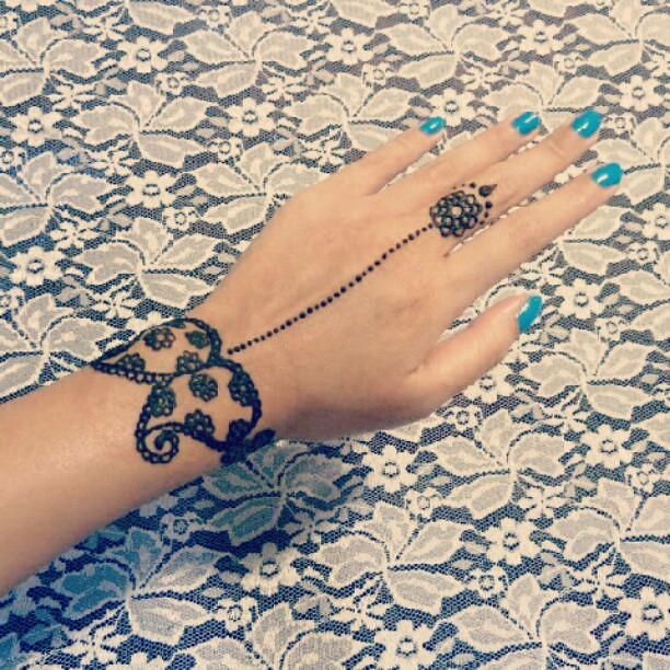 Henna Mehndi Tattoo Bodyart India Hk Bracelet Lace Flickr