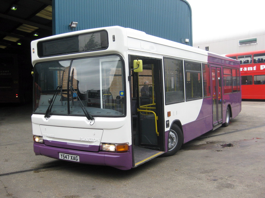 London Vehicle Finder >> Grant Palmer Y547XAG | Purchased from Ensign Bus to fulfull … | Flickr