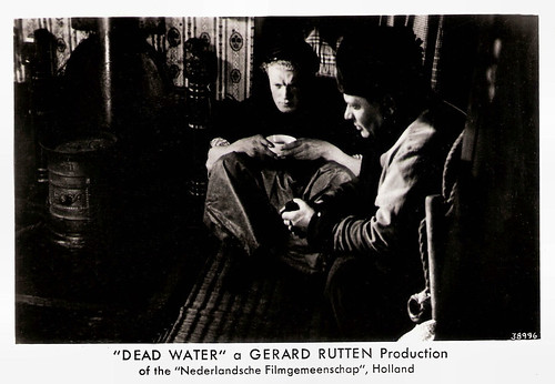 Max Croiset and Arnold Marlé in Dood water