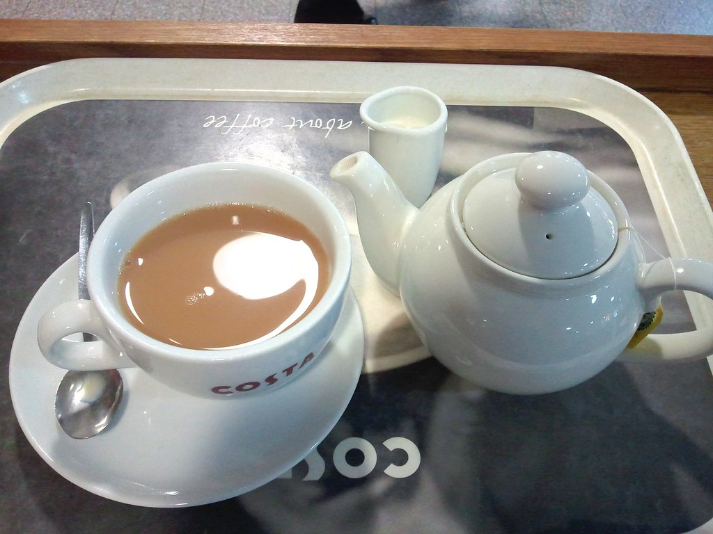Proper cup of tea? | My first cup of tea upon landing in ...