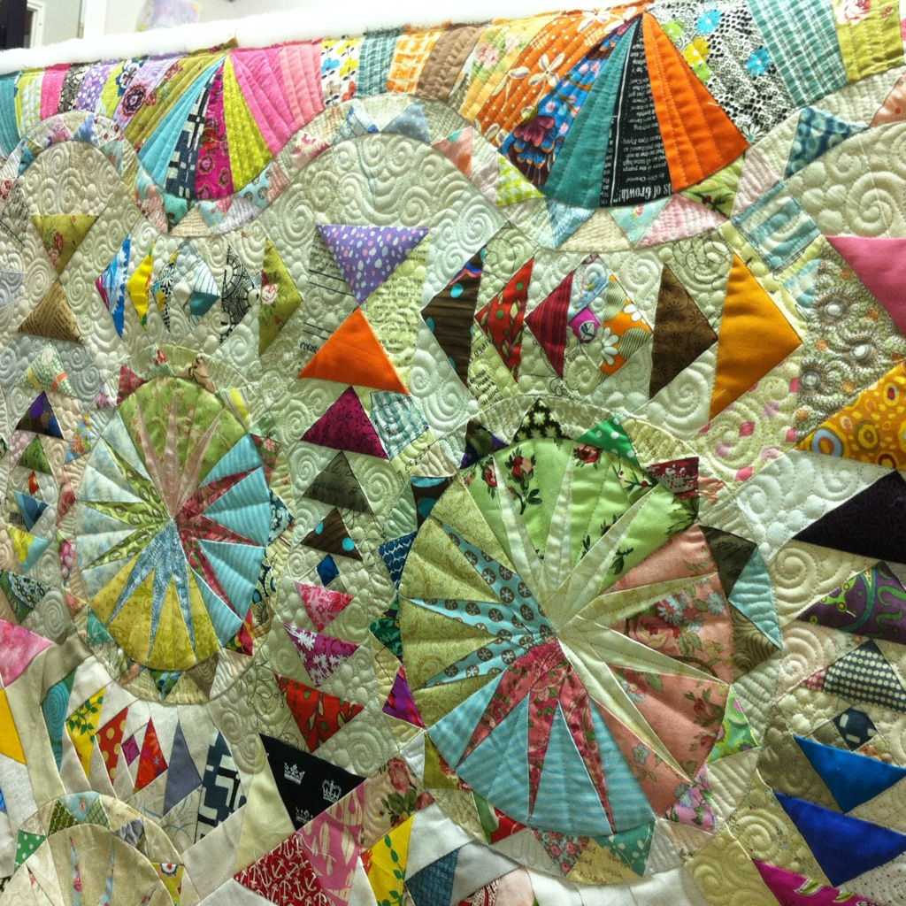Amazing Quilts: Insanely Amazing Quilt WIP