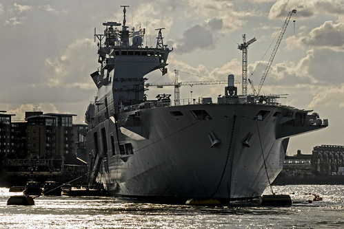UK - London - Battleship on Thames | by Darrell Godliman