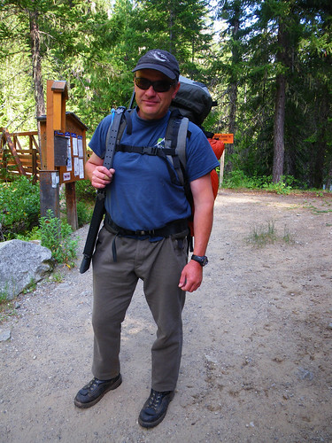 Me, first time on a backpacking trip in 30 years... | by red alder ranch