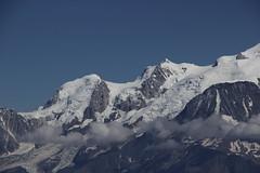 Mont Blanc de Tacul and Mont Maudit