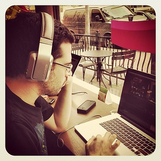 I'm rockin' @MonsterProducts noise cancellers - perfect for a noisy #SDCC space. | by Chris Pirillo