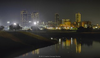 FT Worth  Night Skyline 005 | by Creative Concept Studios