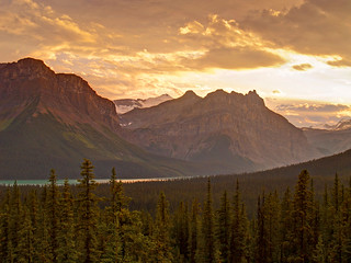 2005 - Bow Lake, Canadian Rockies Sunset | by Matt Champlin