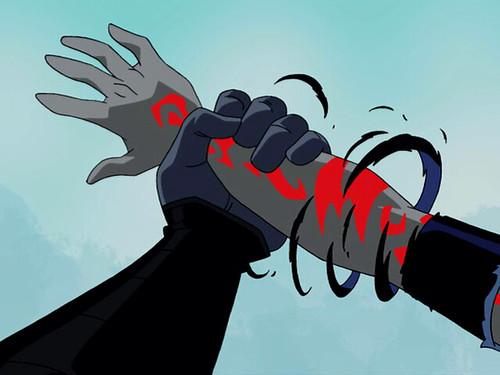 Raven-Birthmark-Arm  Most Screenshots From This Season 4 -3303