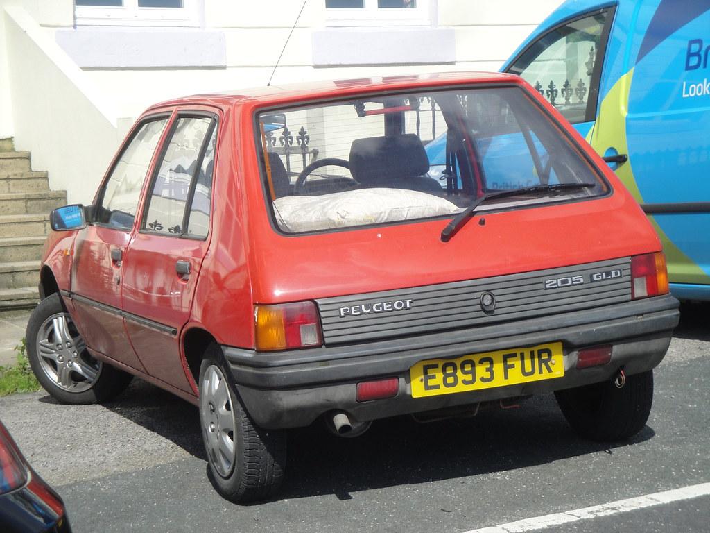 1988 Peugeot 205 Gld