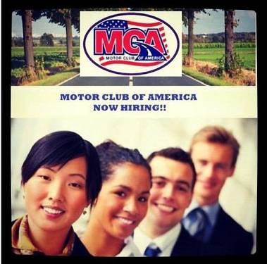 Mca motor club of america be your boss Motor club of america careers
