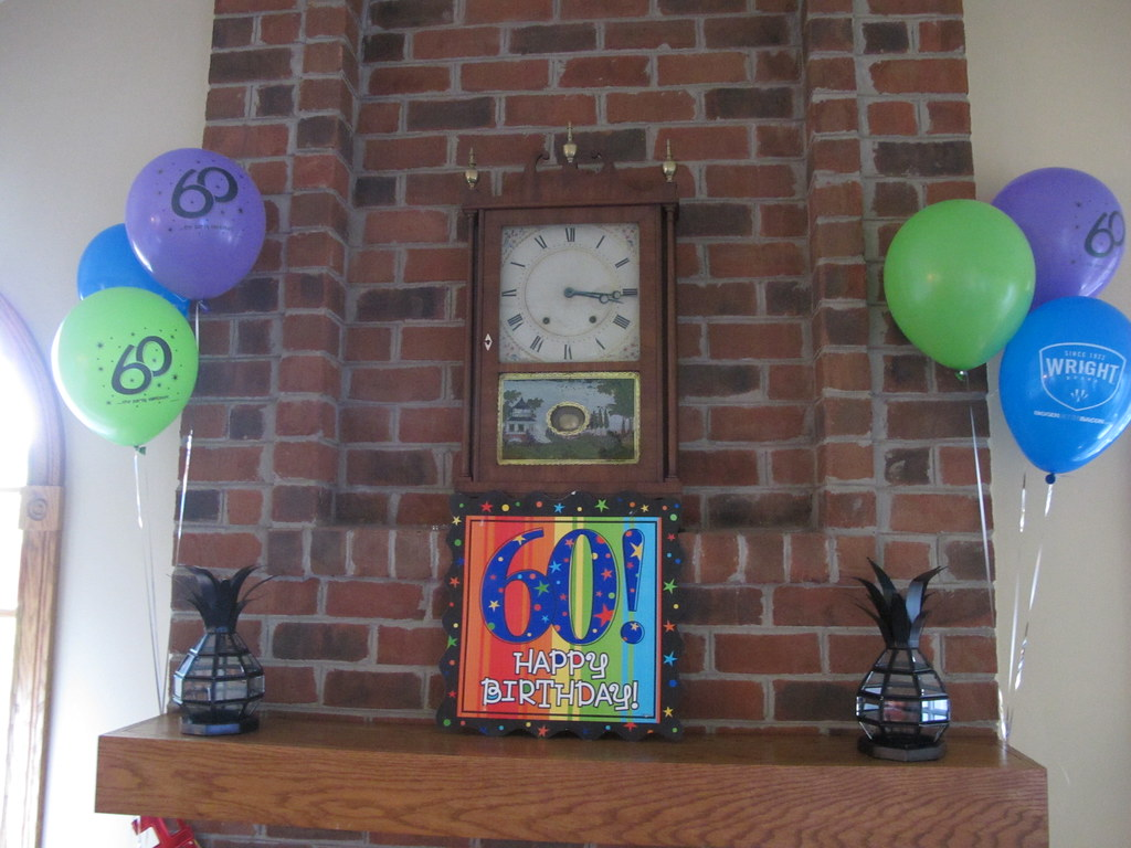 33242 Wright Brand Bacon 60th Birthday Party Decorations