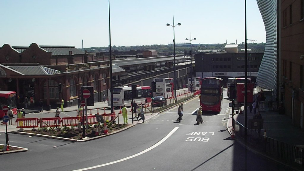 Moor Street Queensway Birmingham City Centre Bus Interch