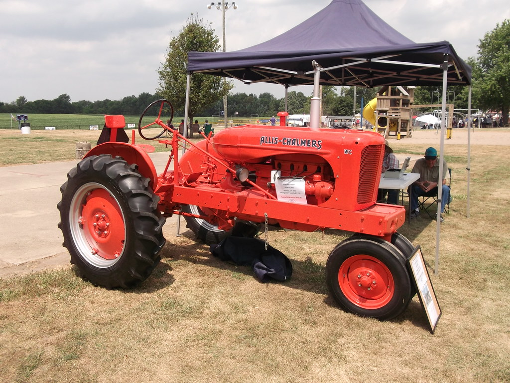 ... 1939 Allis Chalmers WC tractor | by cjp02