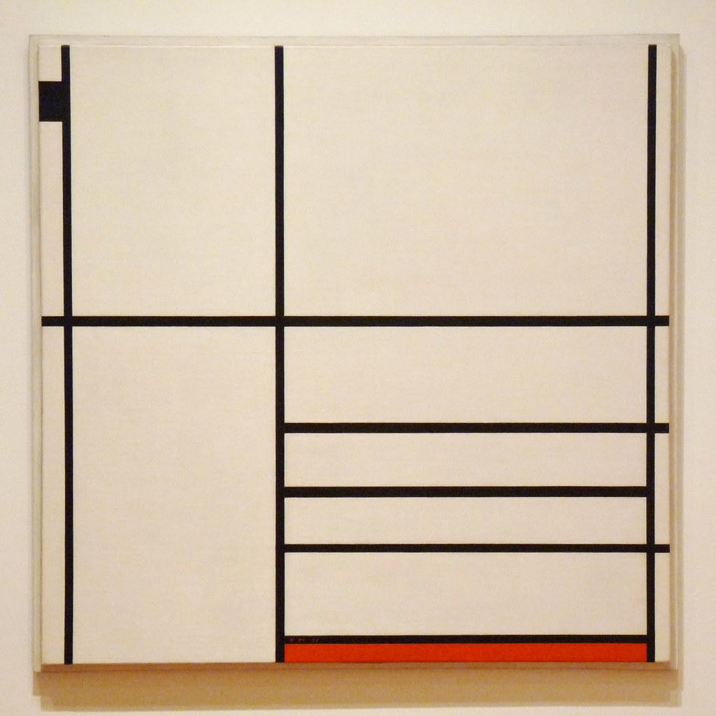 composition en blanc noir et rouge piet mondrian 193. Black Bedroom Furniture Sets. Home Design Ideas