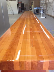 Bar Top With Lacquer Finish | By HelmsBrewingCo ...