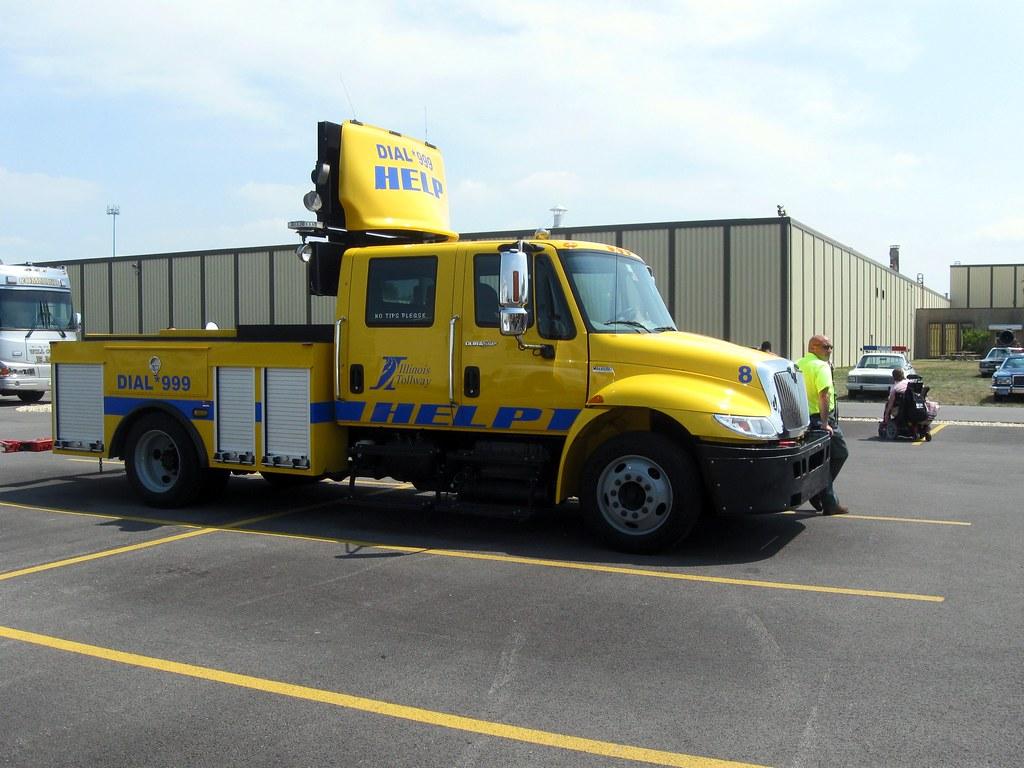 Il Illinois Tollway Help Truck Truck 8 At 2012