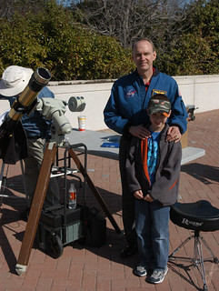 Conner in 2006 w/ Astronaut Joe Edwards | by VisualUniverse