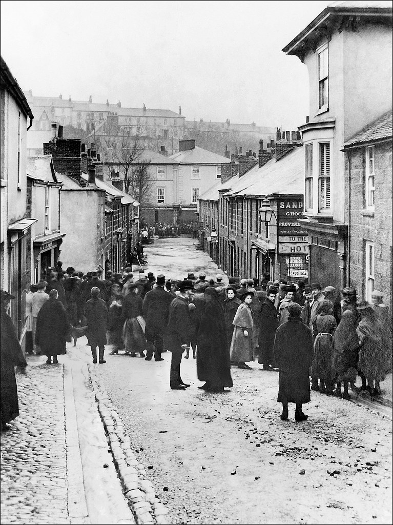 St ives cornwall the great flood of november 1894 for The ives