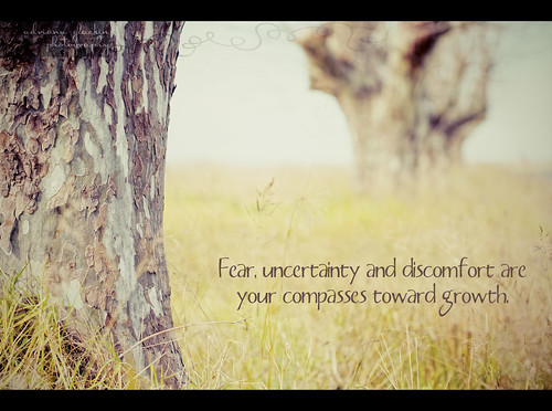 Fear, uncertainty & discomfort are your compass towards growth. | by Adriana Glackin