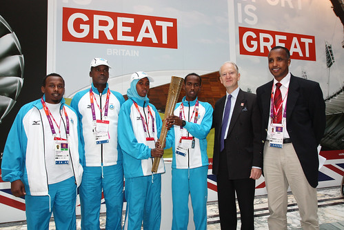 Somalia Olympic delegation | by Foreign and Commonwealth Office