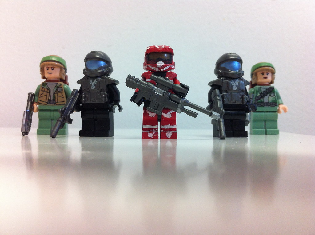Red halo 4 spartan 4 warrior just another lego spartan 4 - Lego spartan halo ...