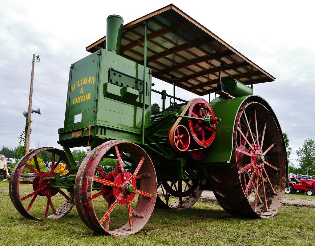 81212 32 The Aultman Taylor Tractor This Behemoth Was