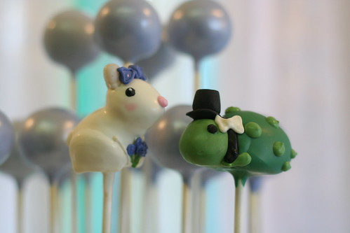 Tortoise and Hare Cake Pops | by Sweet Lauren Cakes